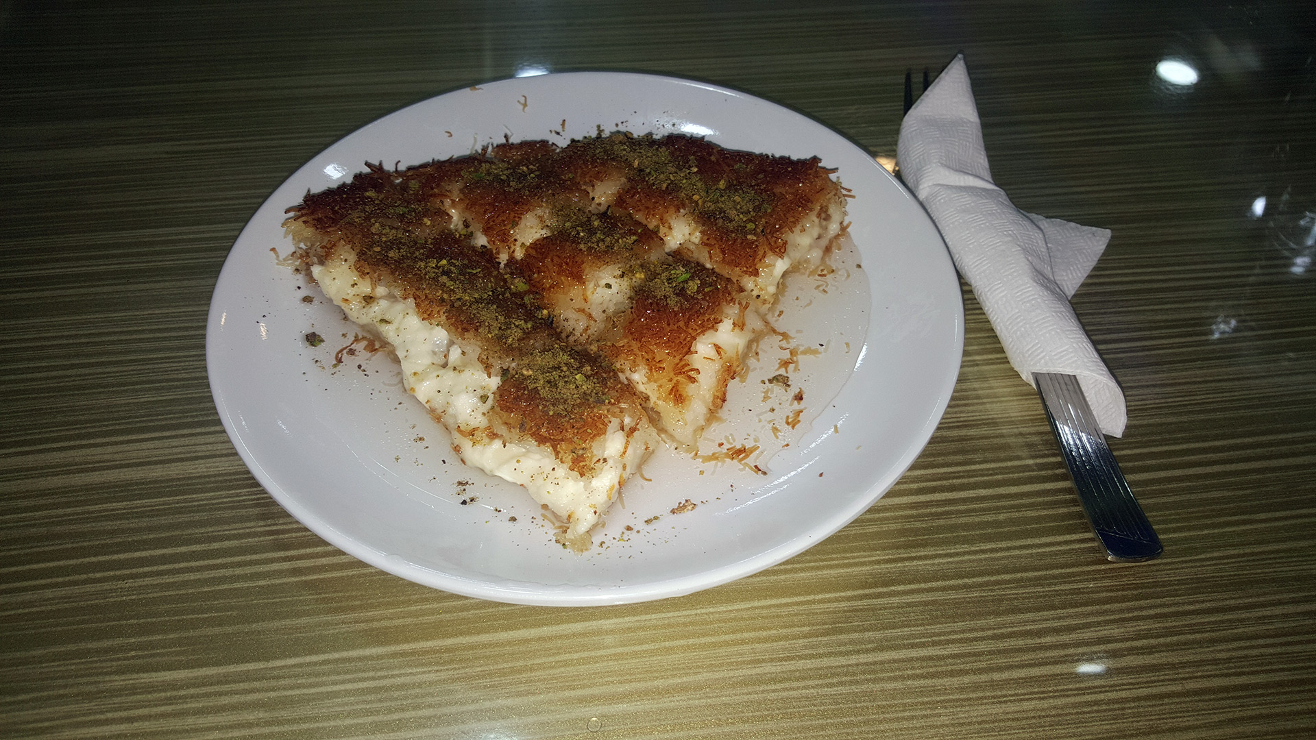 Кюнефе: популярный турецкий десерт, происходящий из Палестины