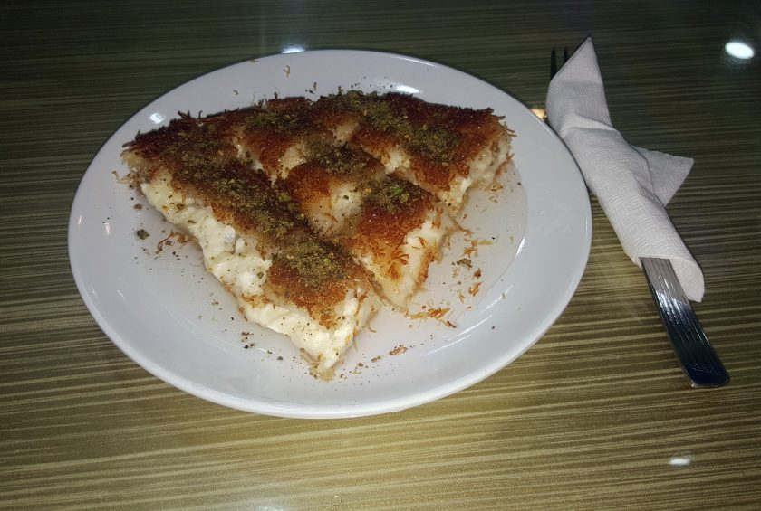 Künefe: popular Turkish dessert that was invented in Palestine