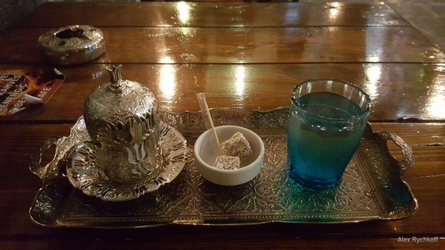 Türk kahvesi at Sur Ici Antik Kahve Evi