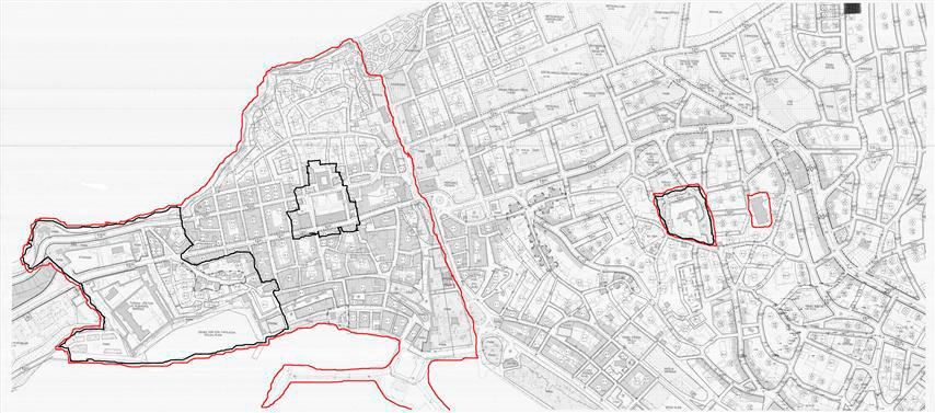 Sinop castle plan