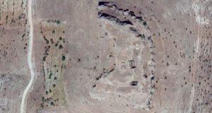 Kız kalesi satelite image from Google Maps