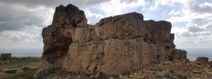 "Ancient Kız kalesi (""Woman's fortess"") near old Mardin, Eskikale village"