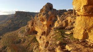 """""""Anır kalesi"""" or abandoned ancient Assyrian monastery near Mardin"""