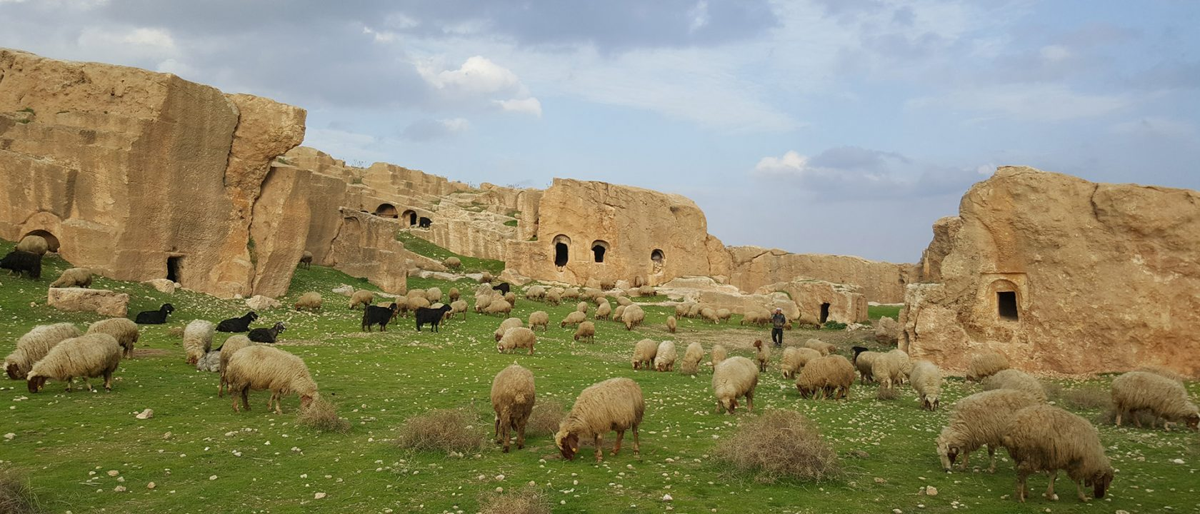 Abandoned Early Byzantine city of Dara