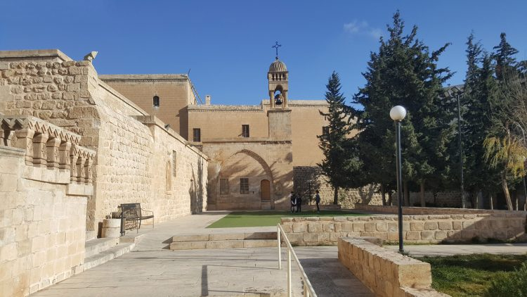 Mor Behnam (Kırklar Kilisesi): old Syriac church in the historical part of Mardin