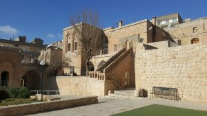 Courtyard of the church