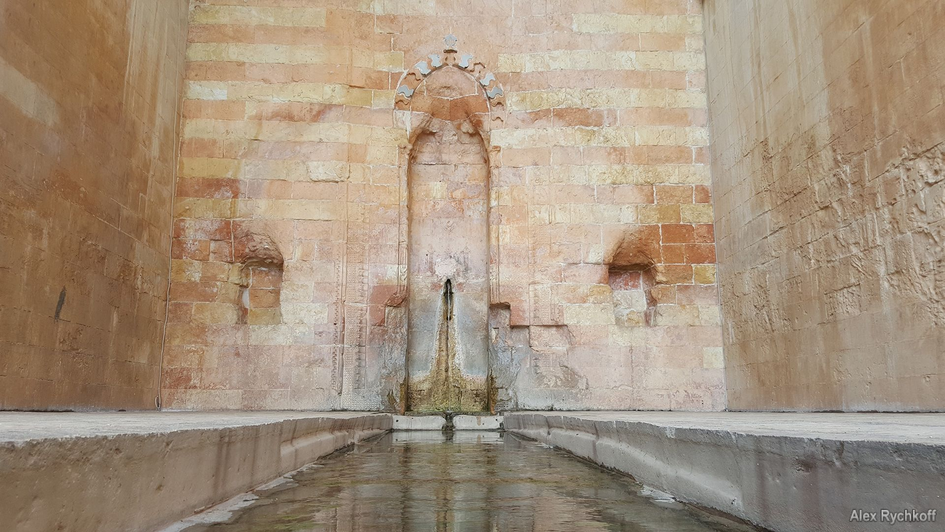 Sufi fountain