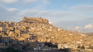 Mardin: castle and old town