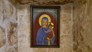 Assyrian Madonna and Child from the Mor Gabriel monastery