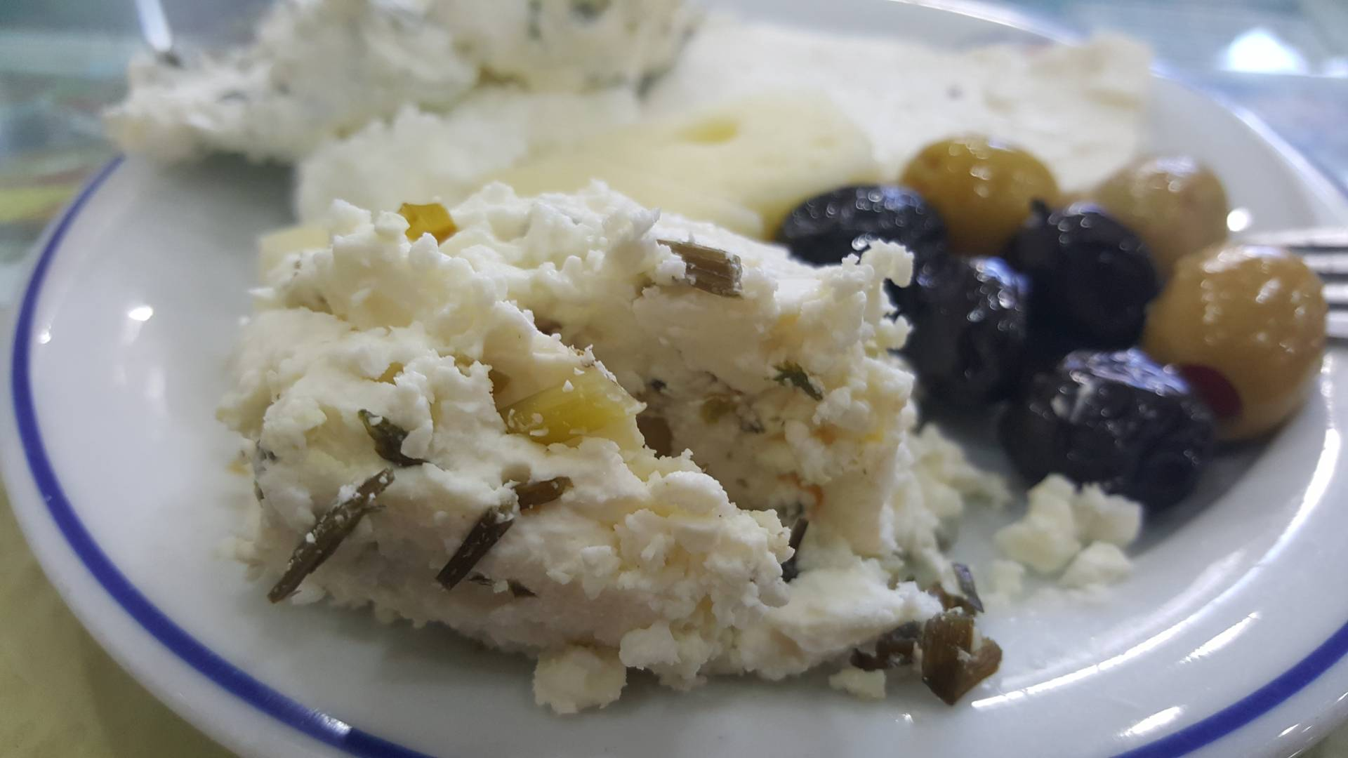 Van Otlu Peynir: special herbed cheese type from the area of Lake Van