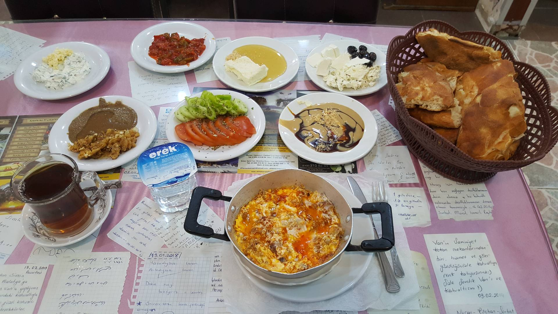 Otlu Peynir is an integral component of the famous Van Breakfast (Van kahvaltısı)