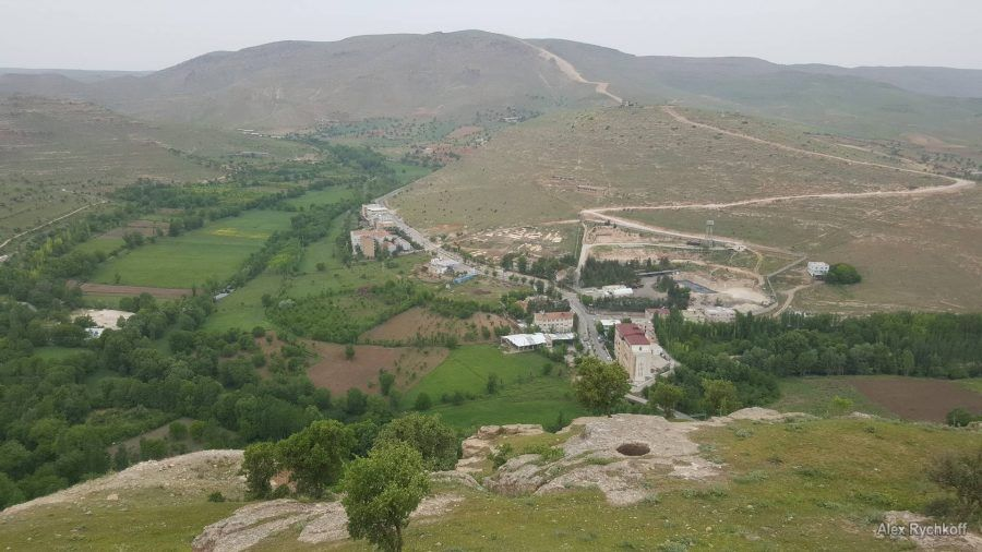 Tur Abdin plateau panorama