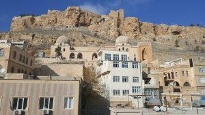 Zinciriye (Sultan İsa) Madrasa and the Mardin castle