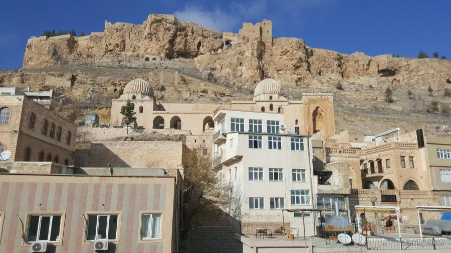 Zinciriye (Sultan İsa) Madrasa and the Mardin castle