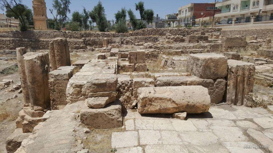 Руины древнего Нисибиса
