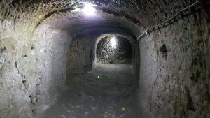 Один из туннелей 8 уровня