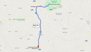 Как добраться в Деринкую из Гереме на автобусе